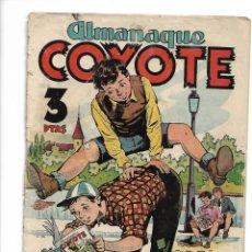 Tebeos: EL COYOTE, AÑO 1947 LOTE DE 32 TEBEOS + ALMANAQUE 1951 Nº 76 SON ORIGINALES SE VENDEN SUELTOS A 10 €. Lote 133530962