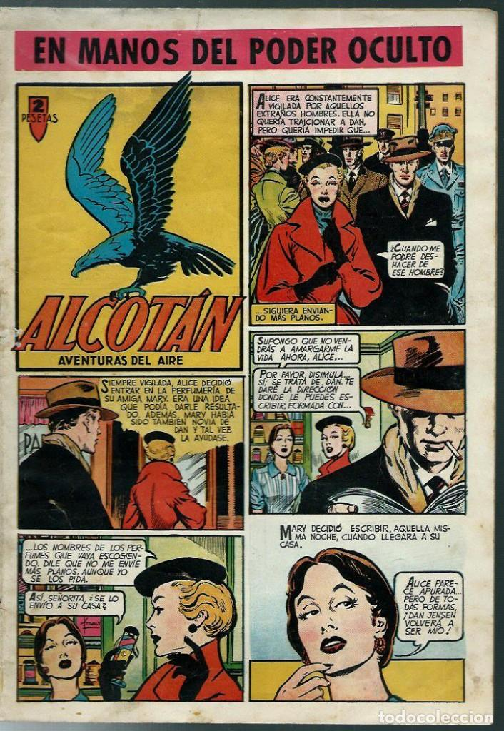 ALCOTAN Nº 2 - EN MANOS DEL PODER OCULTO - CLIPER 1951 - ORIGINAL - CON JULIO RIBERA, LARRAZ, ETC, (Tebeos y Comics - Cliper - Otros)