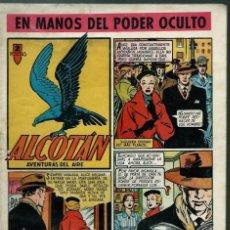 Tebeos: ALCOTAN Nº 2 - EN MANOS DEL PODER OCULTO - CLIPER 1951 - ORIGINAL - CON JULIO RIBERA, LARRAZ, ETC,. Lote 144731326
