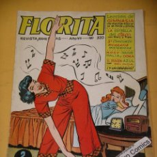 Tebeos - Florita nº 320, ed. Cliper - Gerpla, años 50, ercom - 144795714