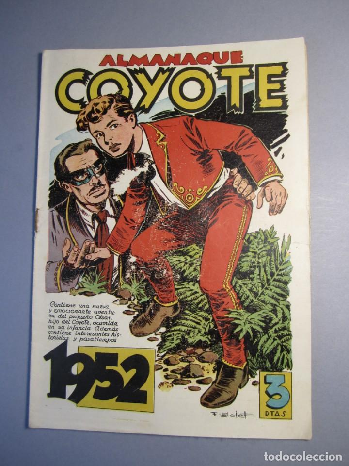 COYOTE, EL (1947, CLIPER) 100 · 1951 · ALMANAQUE 1952 (Tebeos y Comics - Cliper - El Coyote)
