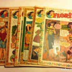 Tebeos - FLORITA -lote de 10 - 146443122