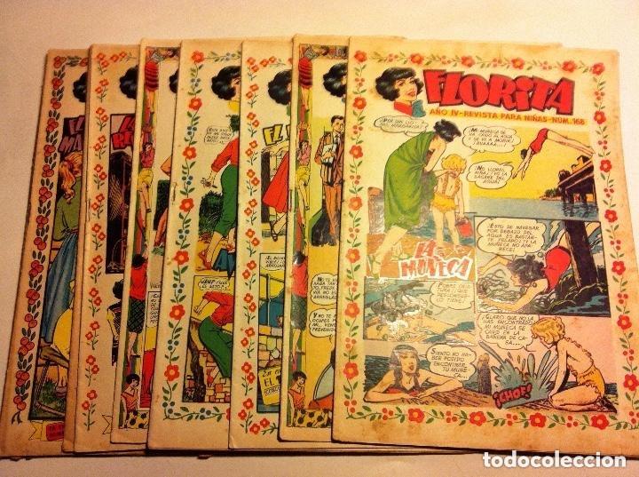 FLORITA -LOTE DE 10 (Tebeos y Comics - Cliper - Florita)