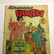 Tebeos: FLORITA -ALMANAQUE 1955. Lote 146450222