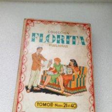 Tebeos: FLORITA EDICIONES CLIPER TOMO II 2 - NUMEROS DEL 21 AL 40 COMIC TEBEO PARA NIÑAS. Lote 146503698