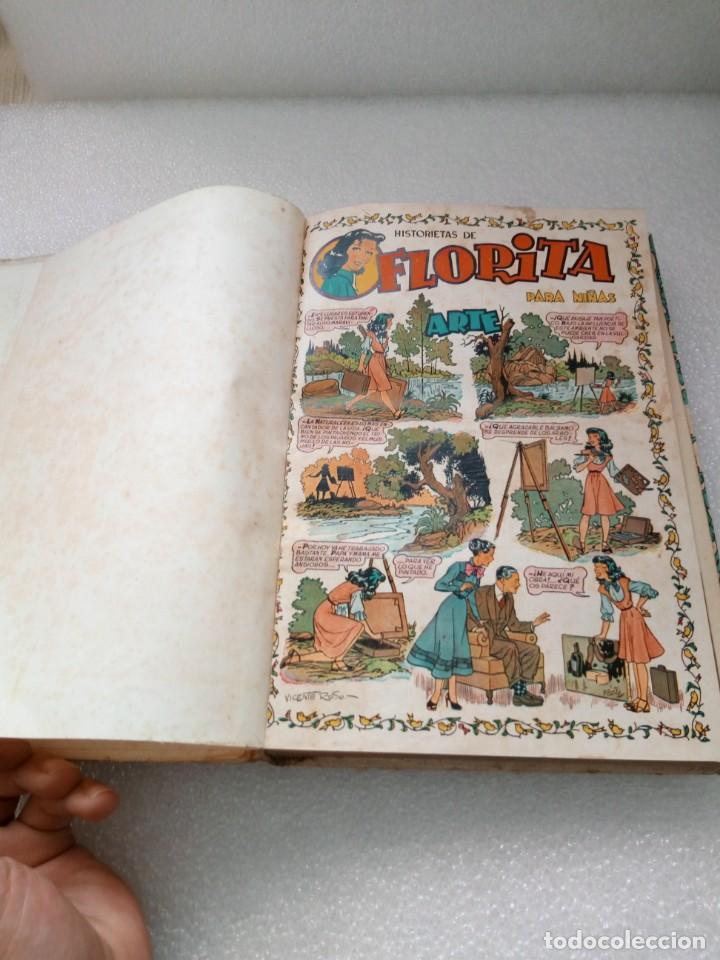 Tebeos: FLORITA EDICIONES CLIPER TOMO II 2 - NUMEROS DEL 21 al 40 COMIC TEBEO PARA NIÑAS - Foto 7 - 146503698