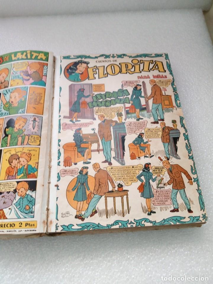 Tebeos: FLORITA EDICIONES CLIPER TOMO II 2 - NUMEROS DEL 21 al 40 COMIC TEBEO PARA NIÑAS - Foto 8 - 146503698