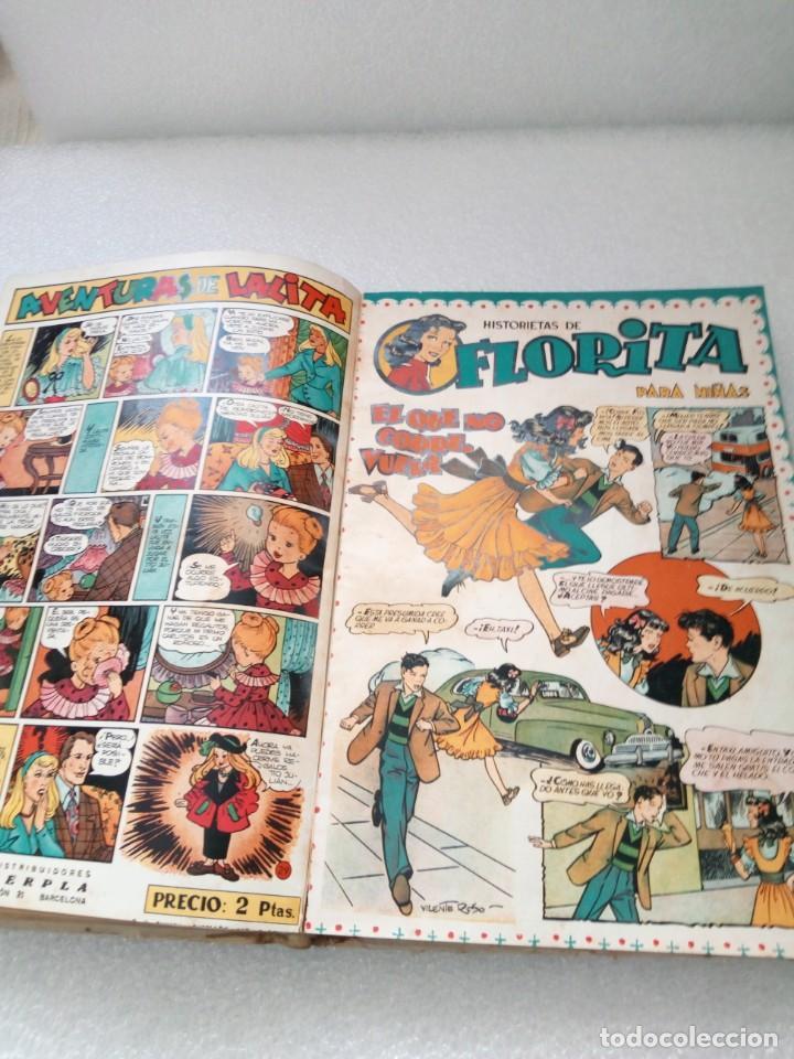 Tebeos: FLORITA EDICIONES CLIPER TOMO II 2 - NUMEROS DEL 21 al 40 COMIC TEBEO PARA NIÑAS - Foto 10 - 146503698