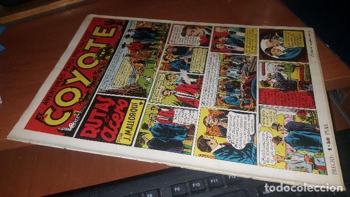 AVENTURAS PARA MUCHACHOS EL COYOTE, N° 2 DE LA COLECCION, PROCEDE DE ENCUADERNACION (Tebeos y Comics - Cliper - El Coyote)