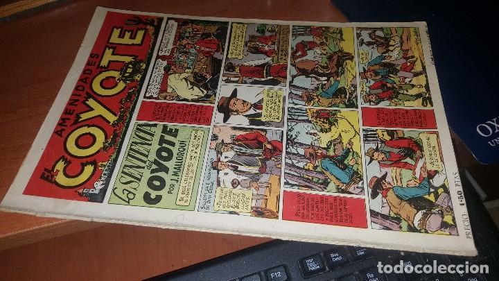 AMENIDADES EL COYOTE, N° 3 DE LA COLECCION, PROCEDE DE ENCUADERNACION (Tebeos y Comics - Cliper - El Coyote)