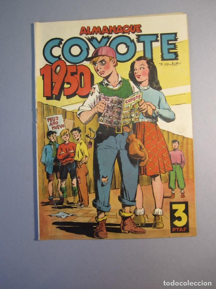 COYOTE, EL (1947, CLIPER) EXTRA 1 · 1949 · ALMANAQUE 1950 (Tebeos y Comics - Cliper - El Coyote)