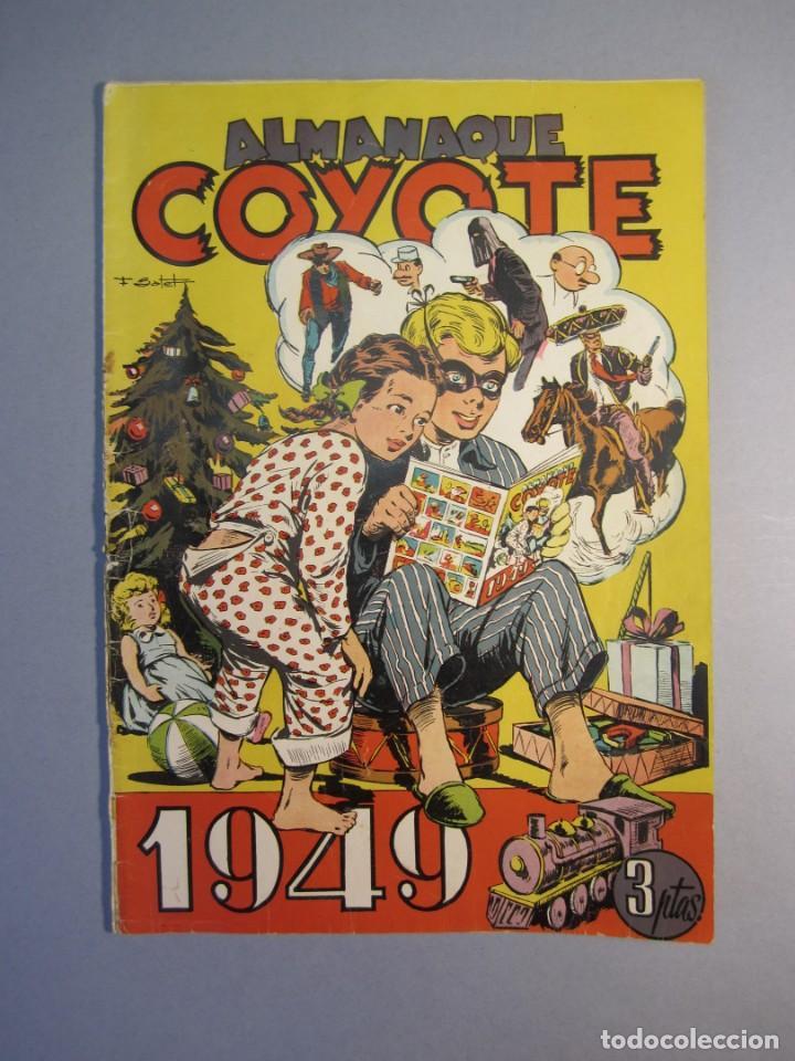 COYOTE, EL (1947, CLIPER) 34 · 23-XII-1948 · ALMANAQUE COYOTE 1949 (Tebeos y Comics - Cliper - El Coyote)