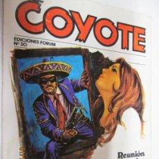 Tebeos: EL COYOTE EDICIONES FORUM Nº 30 REUNION EN LOS ANGELES , LUCES DE CALIFORNIA . Lote 147227518