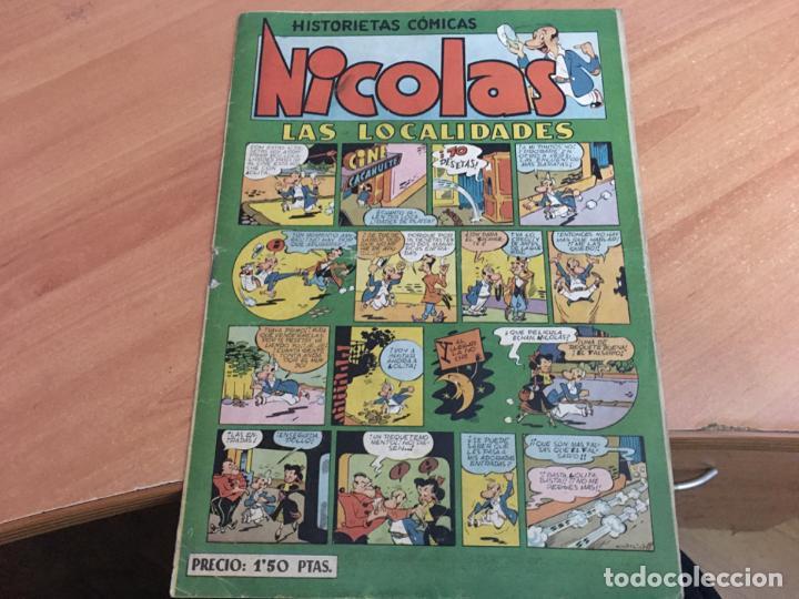 NICOLAS HISTORIESTAS COMICAS Nº 12 LAS LOCALIDADES (ED. CLIPER) (COIM19) (Tebeos y Comics - Cliper - Nicolas)