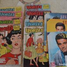 Tebeos: LOTE REVISTAS FLORITA Y SISSI AÑOS 50 - 60. Lote 151598782