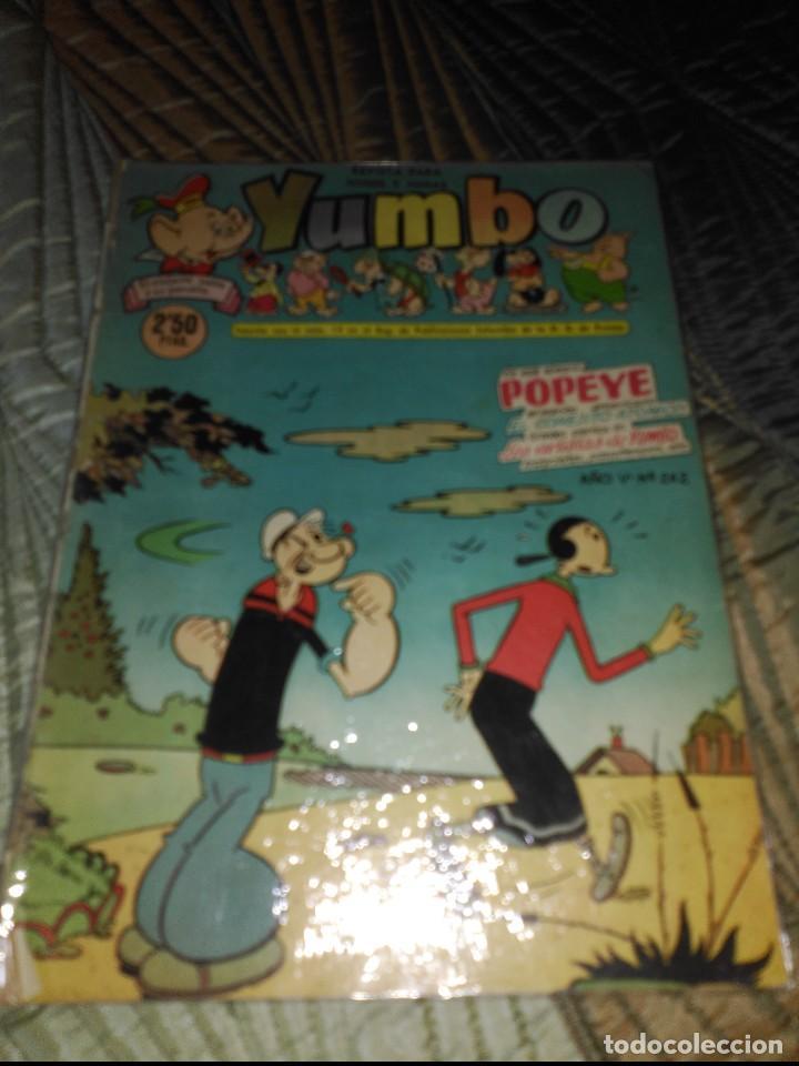 YUMBO LOTE DE 6 CÓMICS Nº 237-242-249-250-251-253 PROCEDENTES DE ENCUADERNACIÓN (Tebeos y Comics - Cliper - Yumbo)
