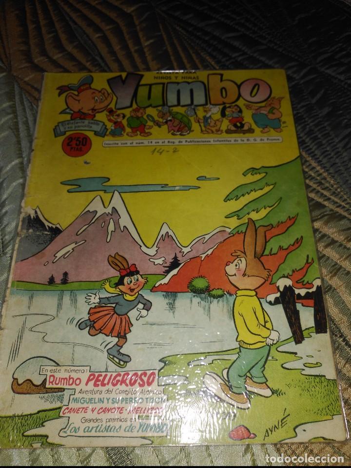 Tebeos: Yumbo Lote de 6 cómics Nº 237-242-249-250-251-253 PROCEDENTES DE ENCUADERNACIÓN - Foto 2 - 151613202