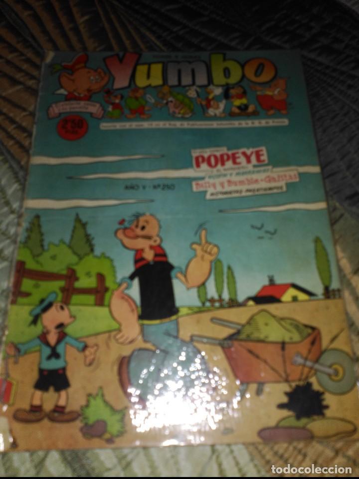 Tebeos: Yumbo Lote de 6 cómics Nº 237-242-249-250-251-253 PROCEDENTES DE ENCUADERNACIÓN - Foto 3 - 151613202