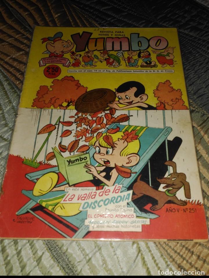 Tebeos: Yumbo Lote de 6 cómics Nº 237-242-249-250-251-253 PROCEDENTES DE ENCUADERNACIÓN - Foto 4 - 151613202