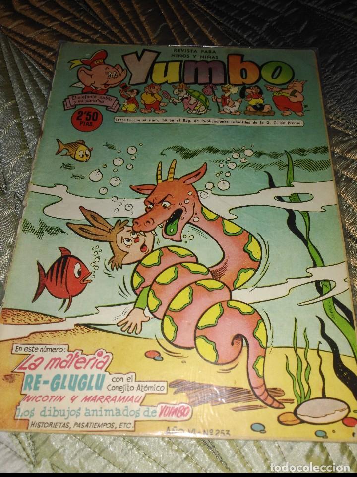 Tebeos: Yumbo Lote de 6 cómics Nº 237-242-249-250-251-253 PROCEDENTES DE ENCUADERNACIÓN - Foto 5 - 151613202