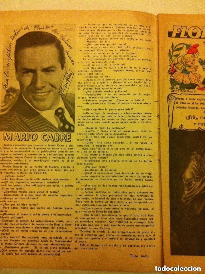 Tebeos: FLORITA -almanaque 1958- muy bien conservado - Foto 2 - 154499554