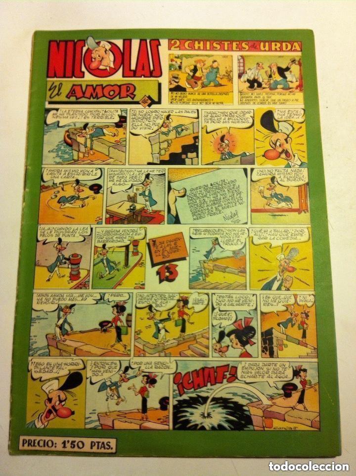 NICOLÁS -Nº.63 - LOMO ABIERTO (Tebeos y Comics - Cliper - Nicolas)