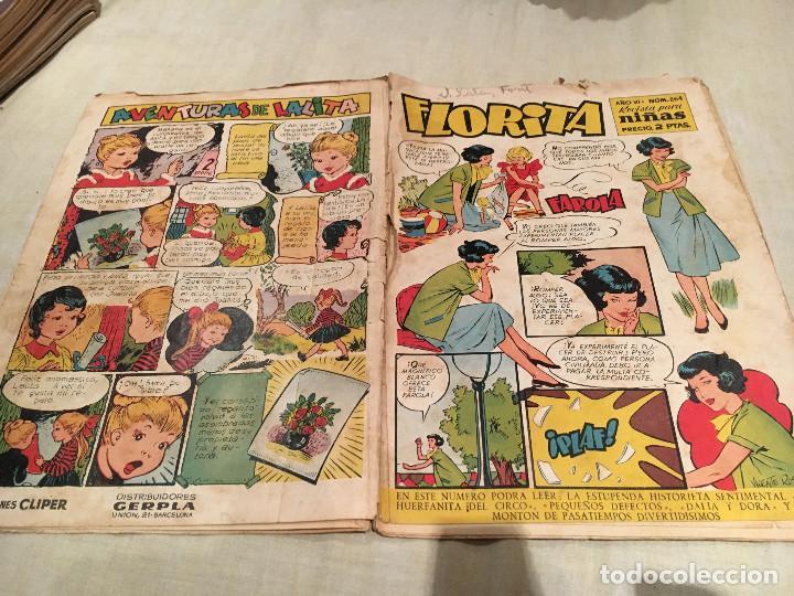 FLORITA Nº 264 EDICIONES .CLIPER (Tebeos y Comics - Cliper - Florita)