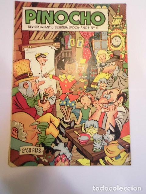 PINOCHO - NUMERO 5 - EDICIONES CLIPER (Tebeos y Comics - Cliper - Otros)