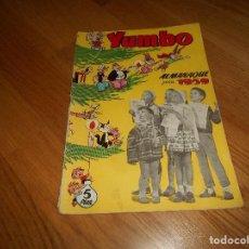 Tebeos: YUMBO. ALMANAQUE PARA 1959. MBE. CLIPER. Lote 155813906