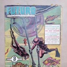 Tebeos: FUTURO - AÑO I - Nº 3 - 3 PTAS (ORIGINAL) - EDICIONES CLIPER. Lote 155822050