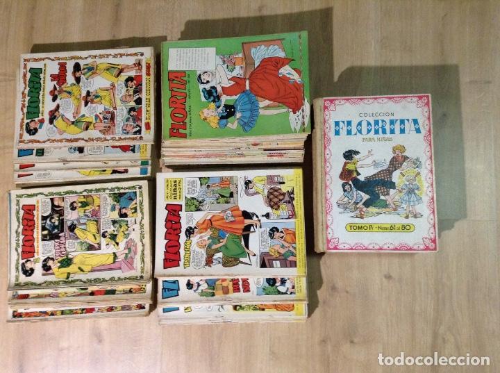 FLORITA GRAN LOTE DE 230 NUMEROS ORIGINALES (Tebeos y Comics - Cliper - Florita)
