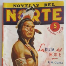 Giornalini: NOVELA OESTE / NOVELAS DEL NORTE / LA RUTA DEL NORTE / R.H. CURTIS / EDICIONES CLIPER Nº 3 EXTRA. Lote 156587550