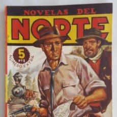 Giornalini: NOVELA OESTE / NOVELAS DEL NORTE / CANADIAN PACIFIC / R.H. CURTIS / EDICIONES CLIPER Nº 4 EXTRA. Lote 156587682