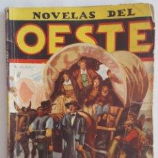 Tebeos: NOVELA OESTE / NOVELAS DEL OESTE / JINETES SOBRE EL MISSOURI / J. LEÓN / EDICIONES CLIPER Nº 52. Lote 156588262