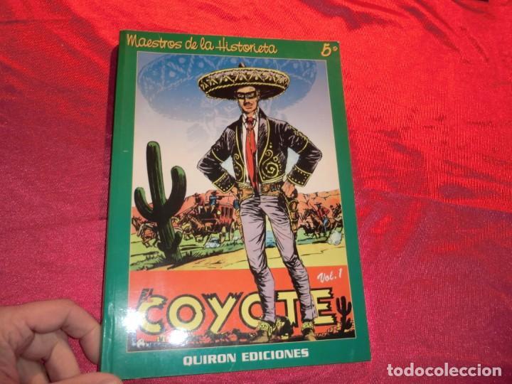 MAESTROS DE LA HISTORIETA TOMO, EL COYOTE (Tebeos y Comics - Cliper - El Coyote)