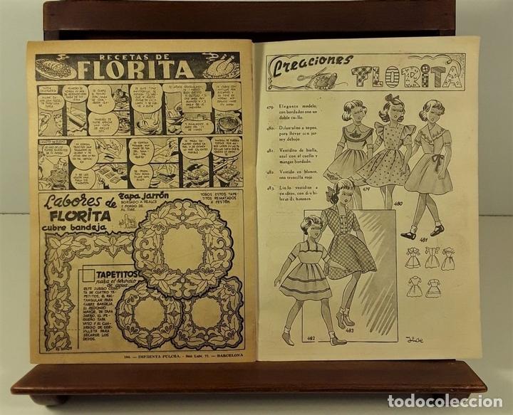 Tebeos: FLORITA. REVISTA PARA NIÑAS. 43 EJEMPLARES. EDICIONES CLIPER. BARCELONA. AÑOS 50. - Foto 6 - 158548878