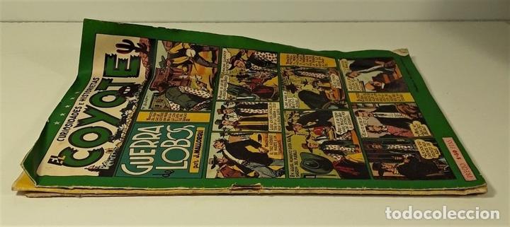 Tebeos: EL COYOTE. 3 EJEMPLARES. EDICIONES CLIPER. BARCELONA. S/F. - Foto 2 - 158631906