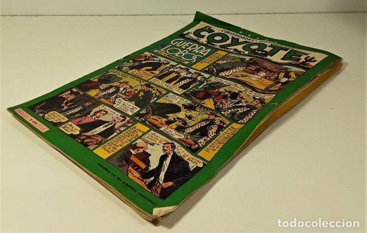 Tebeos: EL COYOTE. 3 EJEMPLARES. EDICIONES CLIPER. BARCELONA. S/F. - Foto 3 - 158631906