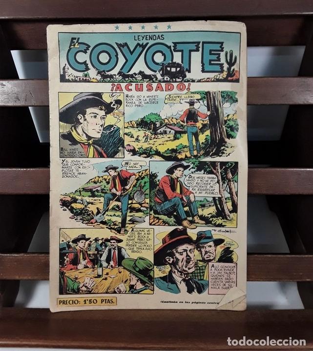 Tebeos: EL COYOTE. 3 EJEMPLARES. EDICIONES CLIPER. BARCELONA. S/F. - Foto 4 - 158631906