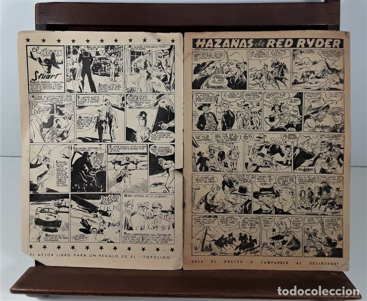Tebeos: EL COYOTE. 3 EJEMPLARES. EDICIONES CLIPER. BARCELONA. S/F. - Foto 5 - 158631906