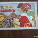 Tebeos: CUADERNO SELECTOS CISNES Nº EL MAGO BARBUDÓN. Lote 159705394