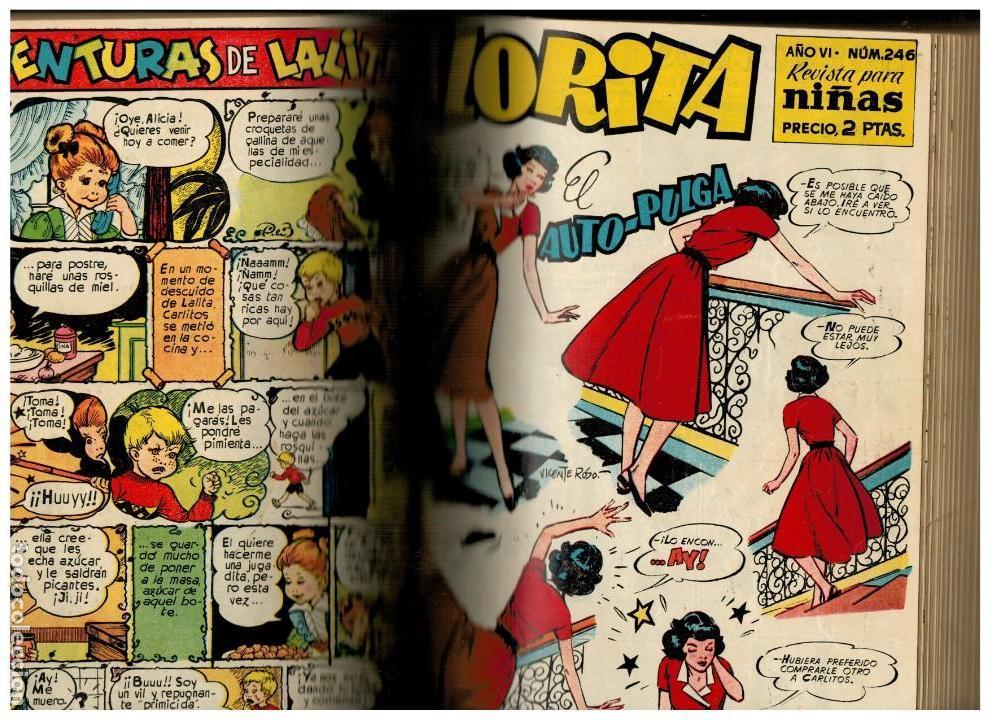FLORITA -TOMO CON 40 NÚMEROS ENTRE EL 213 Y 265- CLIPER.ORIGINALES. LEER (Tebeos y Comics - Cliper - Florita)