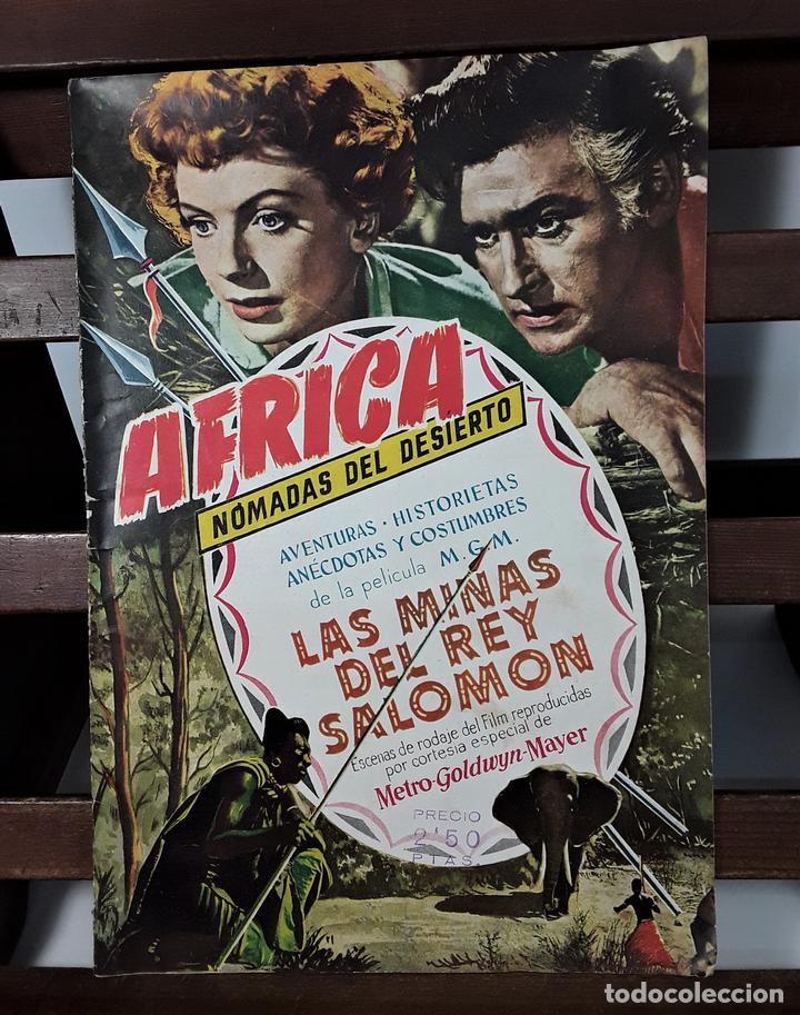 ÁFRICA, NÓMADAS DEL DESIERTO. EDICIONES CLIPER. AÑOS 40/50. (Tebeos y Comics - Cliper - Otros)