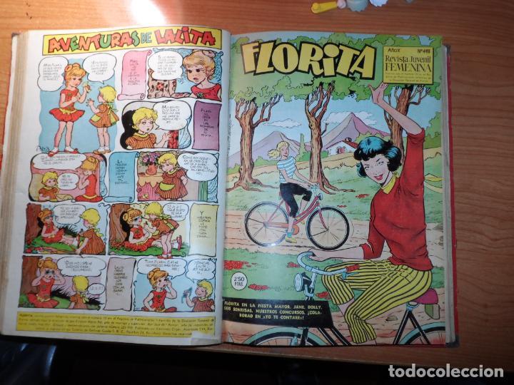 Tebeos: FLORITA TOMO CON EXTRAORDINARIO DE PRIMAVERA Y DEL NUMERO 436 AL 460 - Foto 3 - 163108606