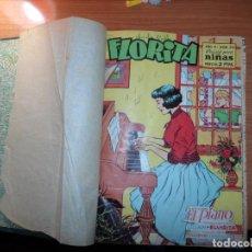Tebeos: FLORITA TOMO DEL NUMERO 378 AL 410 . Lote 163111026