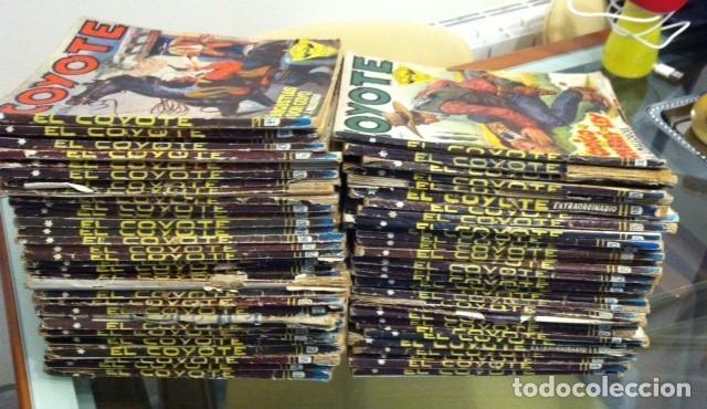 LOTE DE 65 EJEMPLARES EL COYOTE, EDITORIAL CLIPER AÑOS 40 Y 50 PRIMERA EDICIÓN (Tebeos y Comics - Cliper - El Coyote)