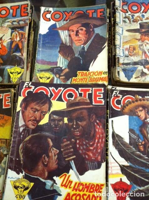 Tebeos: LOTE DE 65 EJEMPLARES EL COYOTE, EDITORIAL CLIPER AÑOS 40 Y 50 PRIMERA EDICIÓN - Foto 5 - 164891954