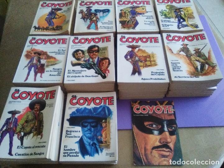 EL COYOTE / JOSE MALLORQUI, COMPLETO 96 EJEMPLARES + NUMERO 0 / PLANETA DE AGOSTINI. AÑO 1983. (Tebeos y Comics - Cliper - El Coyote)