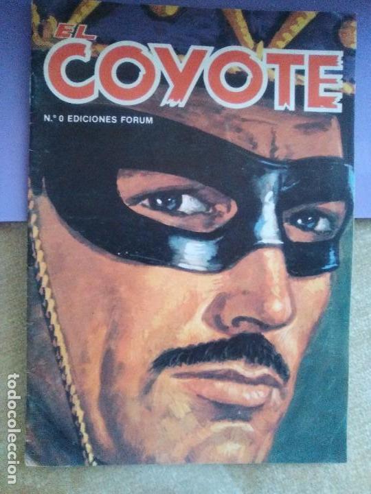 Tebeos: EL COYOTE / JOSE MALLORQUI, COMPLETO 96 EJEMPLARES + NUMERO 0 / PLANETA DE AGOSTINI. AÑO 1983. - Foto 2 - 165777462