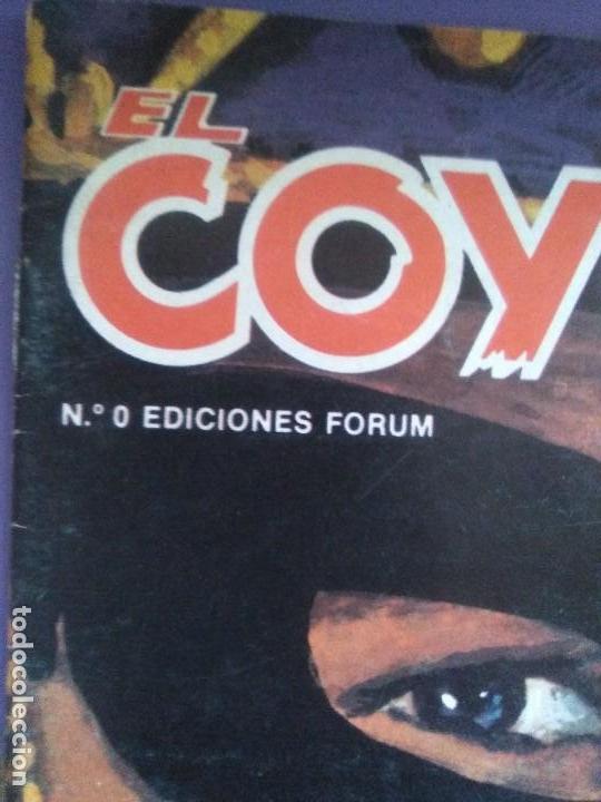 Tebeos: EL COYOTE / JOSE MALLORQUI, COMPLETO 96 EJEMPLARES + NUMERO 0 / PLANETA DE AGOSTINI. AÑO 1983. - Foto 3 - 165777462